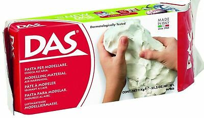 DAS White Modelling Air Hardening Drying Clay 1 kg