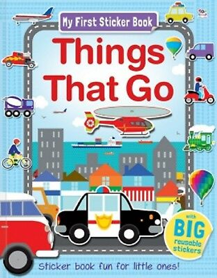 Things That Go (My First Sticker Book) Paperback