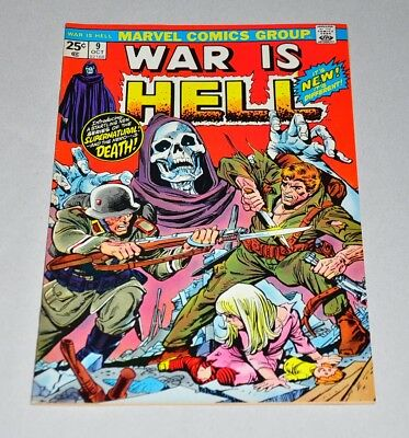 War Is Hell 9 Bronze Age 1st Death HIGH GRADE VF/NM