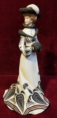 "Lenox TEA AT THE RITZ 8.5"" Lady Figurine DS-3"