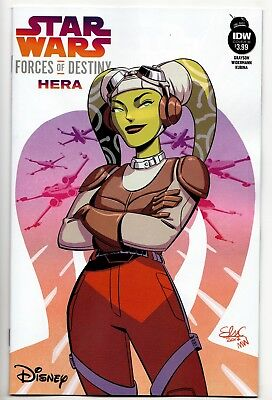 Star Wars Forces Of Destiny: Hera One-Shot / Cover B (IDW, 2018) - New (NM)