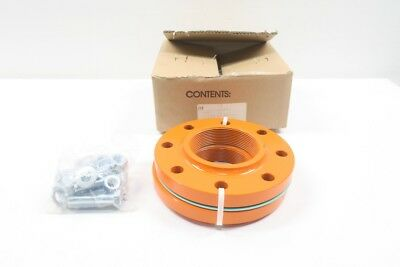 New Martin 25698 4In Npt Steel Flange Assembly D593535