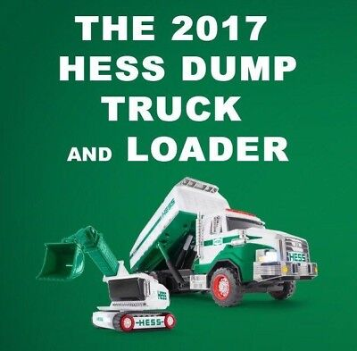 2017 Hess Dump Truck And Loader In Stock Sold Out Online