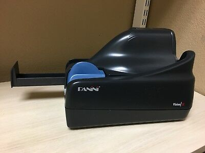 Panini vision x check scanner