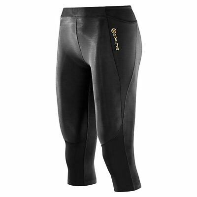 Skins A400 Compression 3/4 Tights - Womens - Black - Large
