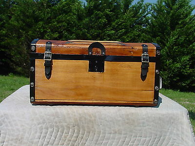 Antique Trunk Circa 1850/60's  A Great Restoration  As Much As 158 Years Old