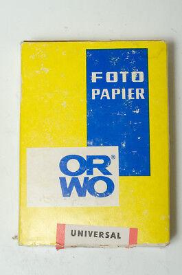 ORWO Universal BN111 10x15 black and white photo paper, 100 sheets, expired