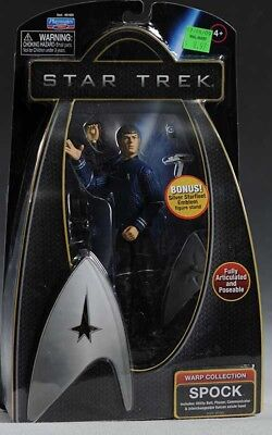 Star Trek Action Figur Mr Spock Warp Collection Raumschiff Enterprise NEU OVP