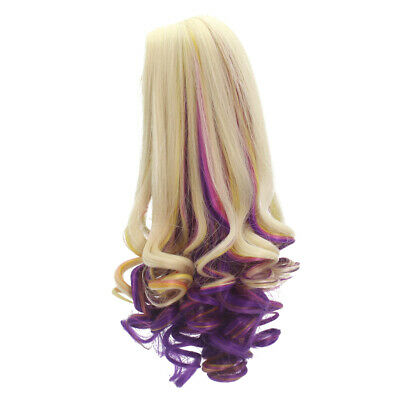 "35cm Curly Hair Replacement Wig for 18"" American Girl Dolls Hair DIY Making"