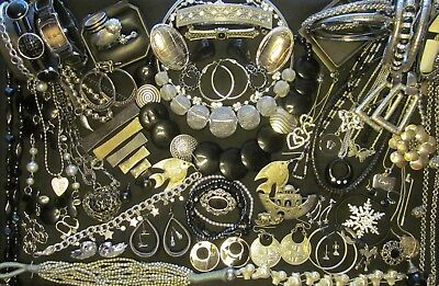 Mixed Vintage - Now Costume Jewelry Lot  all wear 70 pc      JL - 23