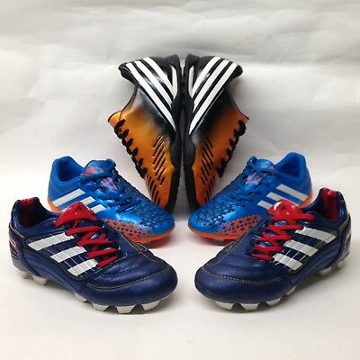 adidas Predator Boys Football Boots Bundle Joblot Kids Trainers sz 12 Shoes sz 2
