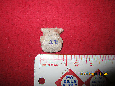 "1"" Perfect, As Made Raddatz Bunt Or Blunt Style Arrowhead ( Aztalan, Wisconsin )"