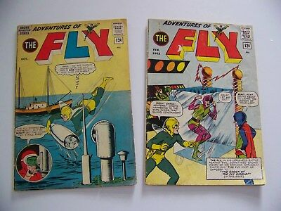 The Fly Lot Of 2, #24 & #28 - Good Condition