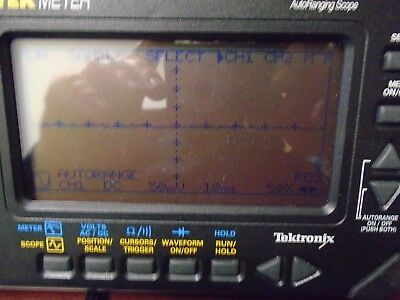 Tektronix THM565 TekMeter with Accy's - Scope & DMM (Works!)