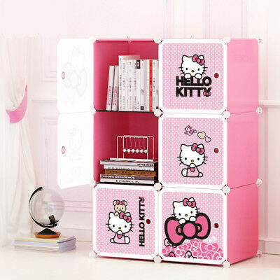 2018 Disney Kids Toy Box Storage Cabinet containers Children Clothes Organiser