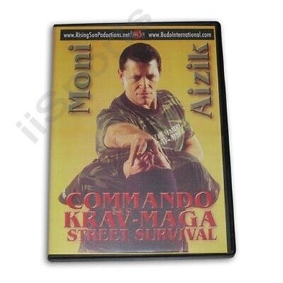 Israeli Commando Krav Maga Street Survival Training DVD Moni Aizik RS-0464