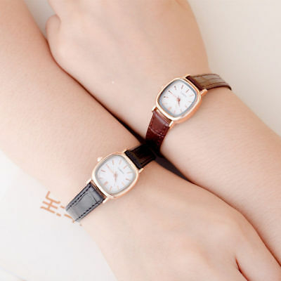 Small Dial Dress Leather Women Watch ladies Girls Watch Women Wristwatch