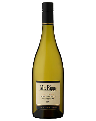 Mr. Riggs Cold Chalk Chardonnay 2015 case of 6 Dry White Wine 750mL