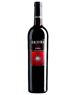 Dalvina Tiver Syrah 2011 case of 6 Shiraz Dry Red Wine 750mL