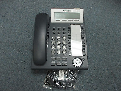 Panasonic KX-DT333 B 24 Button Digital Display Speaker Telephone BK KX-TDE100 #B