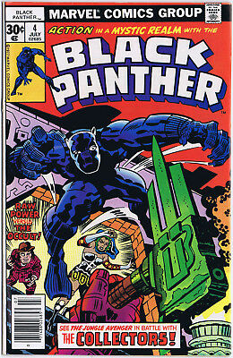BLACK PANTHER 4 Marvel Comics 1977 JACK KIRBY story and art