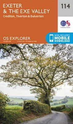 Exeter and the Exe Valley by Ordnance Survey 9780319243152