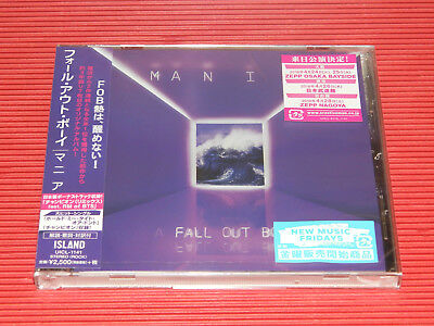 2018 JAPAN CD FALL OUT BOY MANIA with Bonus Track for Japan