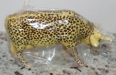 Vintage 2000 Westland Cow Parade 9169 LEOPARD COW Mint in Box w/ Tag