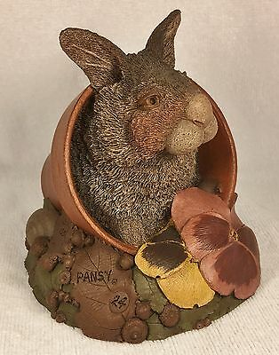 PANSY-R 1991~Tim Wolfe/Tom Clark Gnome~Cairn #9038~Ed #24~COA~Hand Signed~Story