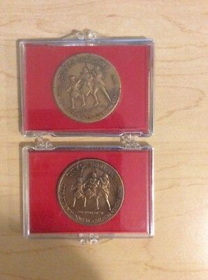 Lot of 2 1776-1976 Bicentenial Celebration Coins - City of Industry
