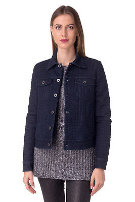RRP €550 DIESEL BLACK GOLD Size 40 / S Women's WADERN Faded Quilted Denim Jacket
