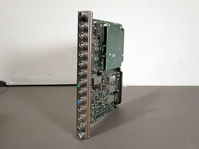 Sony BKM-21D Multi Decoder Adaptor Board Card Monitor BVM Composite Video RGB