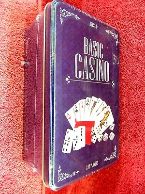 Collectors  Basic   Casino  Set  New  Sealed  Unopened  Tin