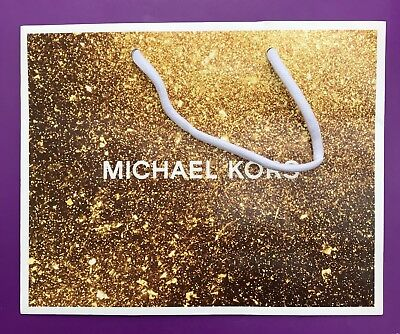 Michael Kors Speciality Store Paper Shopping Gift Bags 7.75 x 9.75 NEW