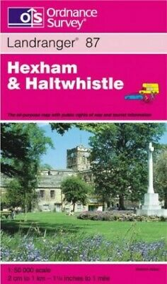 Hexham and Haltwhistle (Landranger Maps) by Ordnance Survey Sheet map, folded