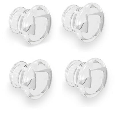 Pinlock Insert Pins  Replacement Clear Genuine  X4