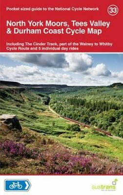 North York Moors, Tees Valley & Durham Coast Cycle Map 33 9781900623469