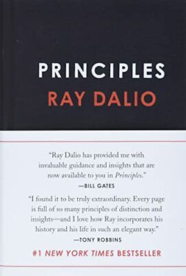 Principles: Life and Work by Dalio, Ray Book The Cheap Fast Free Post