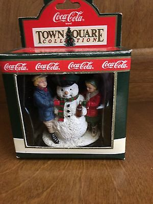 """""""Thirsty The Snowman"""" Coca-Cola Town Square Collection Item #7950"""