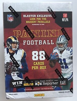 2016 Panini NFL Football 11-pack Blaster Box - New & Sealed