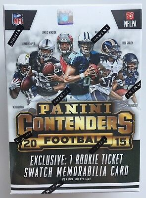 2015 Panini Contenders NFL Football 5-Pack Blaster Box - New & Sealed
