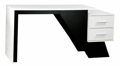 AARON Designer Inspired Home Office Work Station Desk BDW/H106/BWH