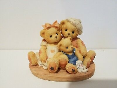 Cherished Teddies Figur Penny, Chandler + Boots