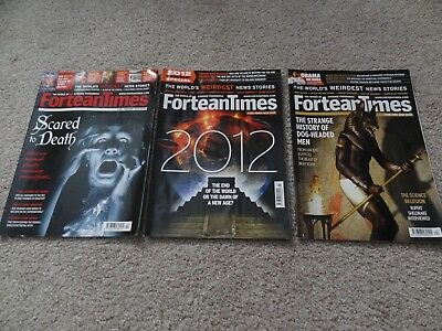 Fortean Times Magazines Issues 284-286 Feb-April 2012