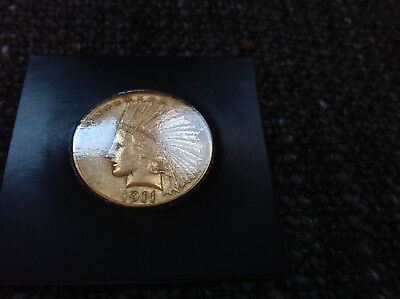 1911 $10 Indian Head Eagle Gold Coin proof