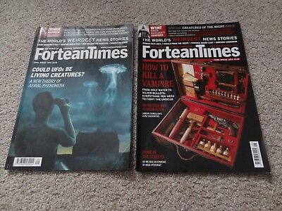 Fortean Times Magazine Issues 288 and 291 Aug & Spec Edition 2012