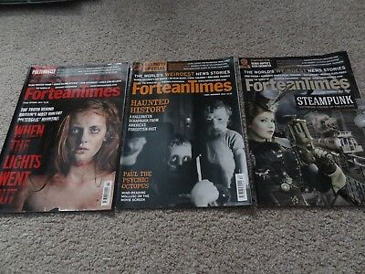 Fortean Times Magazine Issues 293-295 Oct, Nov & Dec 2012