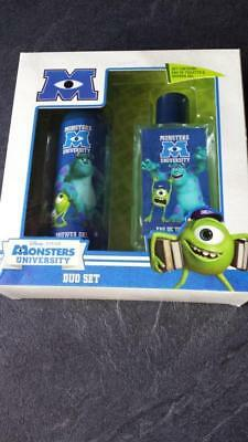 Monsters University Coffret Eau De Toilette 75 Ml + Gel Douche 100 Ml