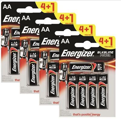 20 x Energizer AA Alkaline Power Plus Batteries LR6 MN1500 MIGNON STILO