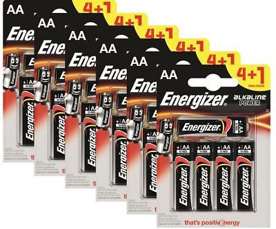 30 x Energizer AA Alkaline Power Plus Batteries LR6 MN1500 MIGNON STILO